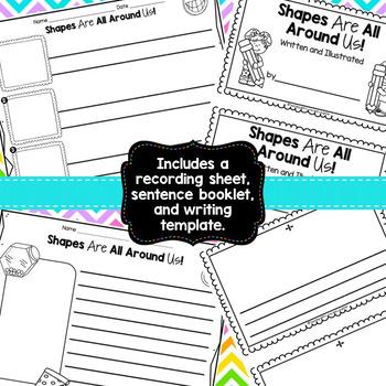 Shapes Scrambled Sentences