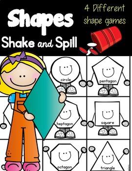 Shapes Shake & Spill