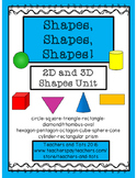 Shapes, Shapes, Shapes!  FREEBIES in preview!