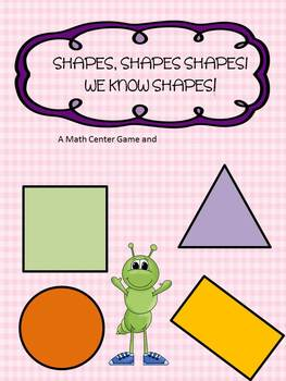 Shapes, Shapes, Shapes, I know Shapes