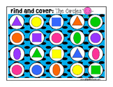 Shapes Shapes Shapes:  Identifying Shapes Find and Cover Activities