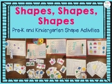 Pre-K and Kindergarten Shapes, Shapes, Shapes Activities