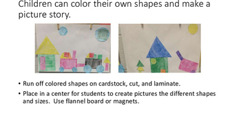 What Can You Make With a Shape?