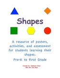 Shapes Shuffle: Get to know the shapes for the First Grade