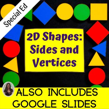 Shapes: Sides and Angles Unit for Special Education