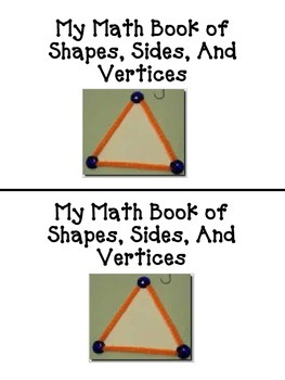 Shapes Sides and Vertices for Primary Grades