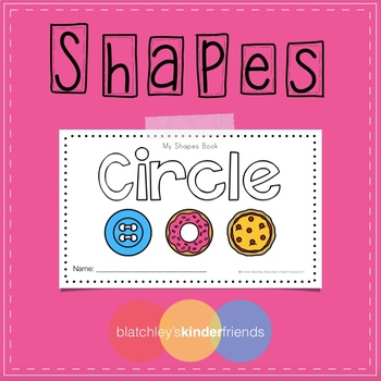 Shapes Sight Word Book - CIRCLE