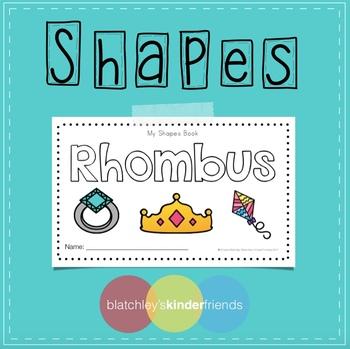 Shapes Sight Word Book - RHOMBUS