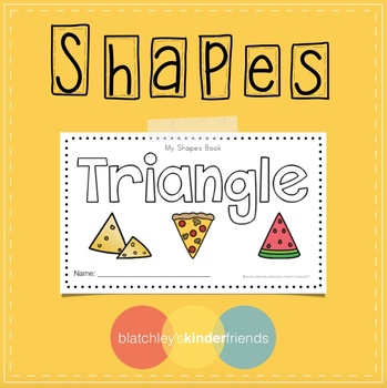 Shapes Sight Word Book - TRIANGLE