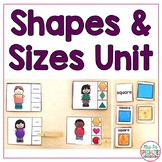 Shapes & Sizes (Special Education Math Unit)