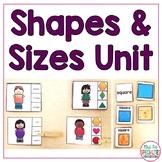 Shapes & Sizes (Special Education Math Unit)