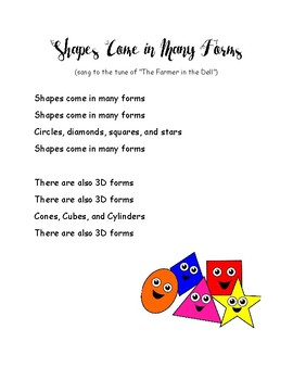 Shapes Songs
