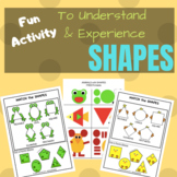 Math Centers - Learn Shapes - Sorting & Matching Activity