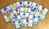 Shapes Task Cards:  Identifying Shapes