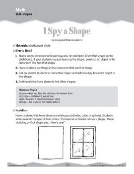Shapes (Ten-Minute Activities)