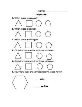 Shapes Test