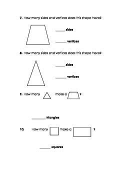 Shapes Test Version 2
