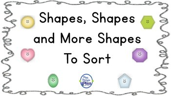 Shapes To Sort