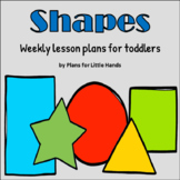 Shapes Toddler Lesson Plan