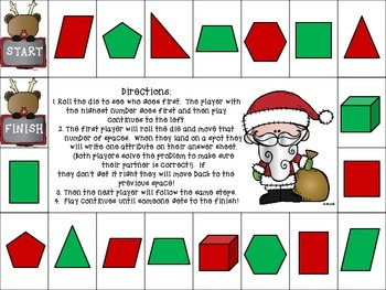 Shapes (Christmas, Project Based Learning)