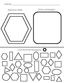 Shapes: Trace Draw Find