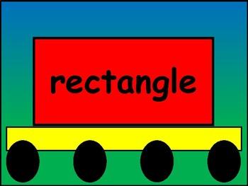 Shapes Train
