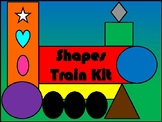 Shapes Train Kit
