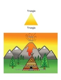 Shapes; Triangles, First Nations, Indigenous, Aboriginal