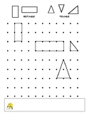 Shapes Triangles Rectangles Create Math