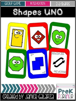 Shapes UNO-inspired Cards