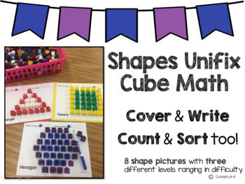 Shapes Unifix Cube Math