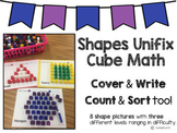 Shapes Unifix Cube Math