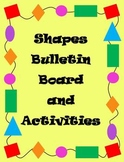 Shapes Unit (25+ Activities!) and Bulletin Board