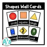 Shapes Wall Card Posters (Black Block)