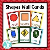 Shapes Wall Card Posters (Rainbow Chevron)