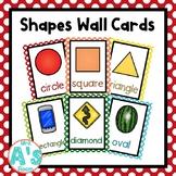 Shapes Wall Card Posters (Rainbow Dots)