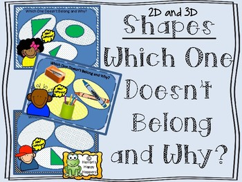 Shapes Which One Doesn't Belong and Why
