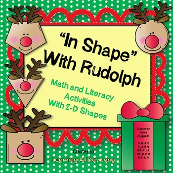 Christmas Math and Emergent Reader With Rudolph the Red-Nosed Reindeer!