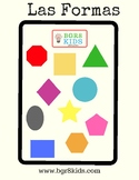 Shapes Word Wall Cards Spanish