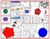 Shapes- Word Wall Cards and Centers