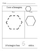 Shapes Worksheet: Pentagon, Hexagon, and Octagon