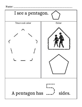 Shapes – Polygons – Pentagon, Hexagon, Heptagon, Octagon, Nonagon ...