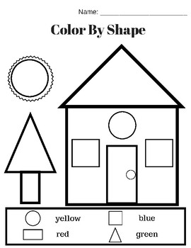 shapes worksheet set identify shapes color shapes match shapes. Black Bedroom Furniture Sets. Home Design Ideas