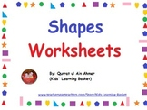 Shapes Worksheets: