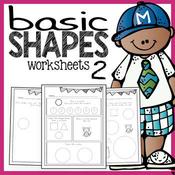 Shapes Worksheets 2