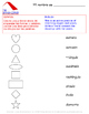 Shapes Worksheets / Las formas en español