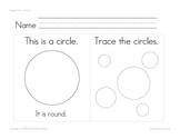 Shapes Worksheets - Math Basic Skills - Individual Work Packet