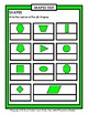 Shapes - Write the Names of the 2D Shapes - Grades 3-4 (3rd-4th Grade)