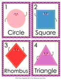 Shapes Write the Room Activity