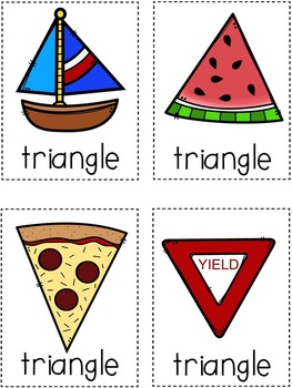 Shapes: Write the Room Activity